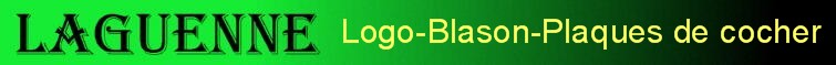 Logo Blason Plaques de cocher